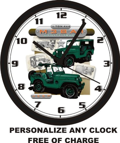 M38A1 UTILITY TRUCK WALL CLOCK-Free USA Ship for sale  Delivered anywhere in USA