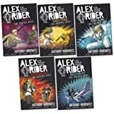 Alex Rider Graphic Novels Pack, 5 books, RRP £59.95 (Eagle Strike; Point Blanc; Scorpia; Skeleton Key; Stormbreaker).
