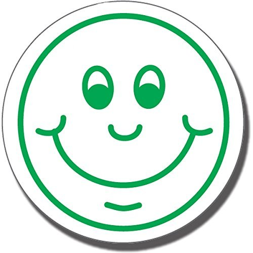 Primary Teaching ServicesHappy smile Face, The Sticker Factory-Timbro preinchiostrato Primary Teaching Services Ltd ST67