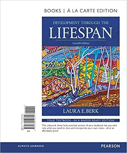 Amazon development through the lifespan books a la carte amazon development through the lifespan books a la carte edition 7th edition 9780134419725 laura e berk books fandeluxe Image collections