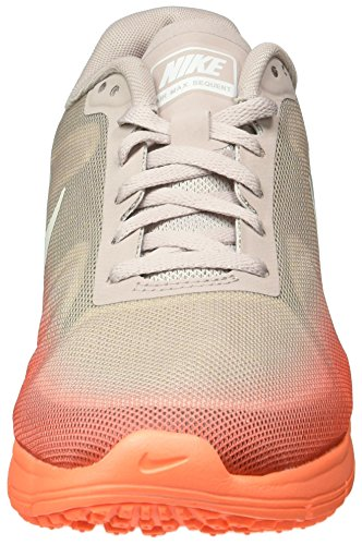 Nike Vrouwen Air Max Sequent Running Trainers 719.916 Schoenen Van (us 7,5, Hyper Oranje Wit Volt As Metallic 802)