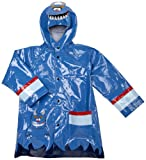 Western Chief Toddler/Little Kid Monster Rain Jacket,Medium Blue,2 Toddler