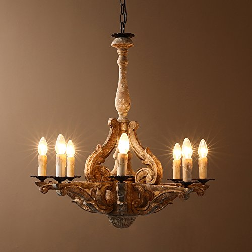 Eight Light Candle Chandelier - 1