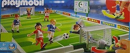 PLAYMOBIL Set de Futbol: Amazon.es: Juguetes y juegos