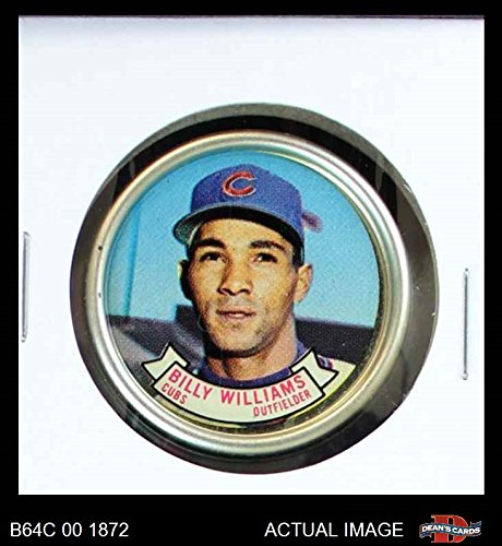 1964 Topps Coins # 44 Billy Williams Chicago Cubs (Baseball Card) Dean's Cards 7 - NM (Chicago Cubs Coin Set)