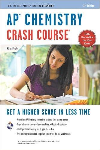 Amazon Com Ap Chemistry Crash Course Book Online Advanced