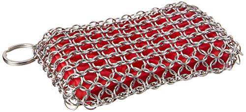 Lodge Chainmail Scrubbing Pad Red product image