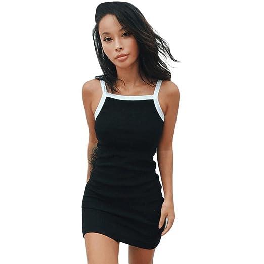8e3e80f14d Xinxinyu - Vestido corto y veraniego de mujer