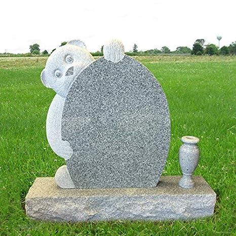 Amazon Com Granite Monument Head Tomb Grave Marker Teddy