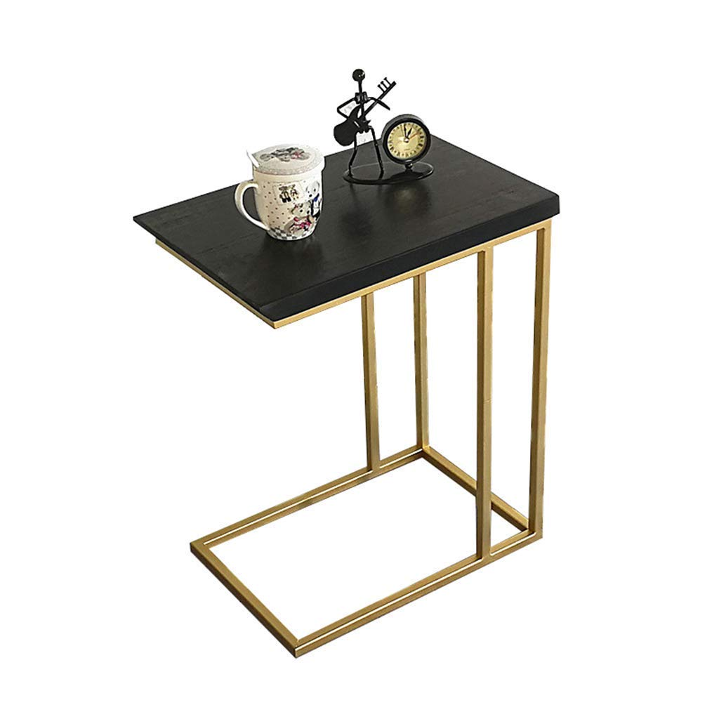 LILISHANGPU Wandklapptisch- Nordic Kleine Couchtisch Massivholz Nachttisch Mini Mobile Nachttisch Einfache Wohnzimmer Voller Tee Rack (Farbe : 30 * 45 * 55cm)