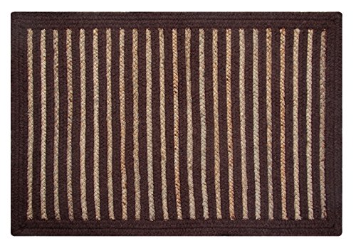 Better-Trends-Metro-Heavy-Weight-Natural-WoolJuteHemp-Blended-Hand-Woven-Area-Rug-3-by-5-Feet-BrownNatural