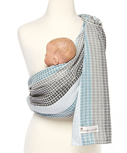 Hip Baby Wrap Ring Sling Baby Carrier for Infants and Toddlers (Moon Honeycomb)
