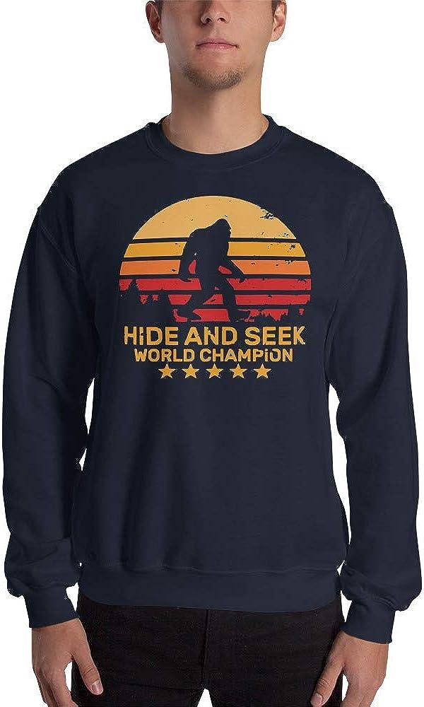 Hide Anbd Seek World Champion Sasquatch Funny Joke Unisex Sweatshirt