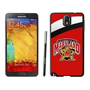 Designed DIY Sports Samsung Galaxy Note 3 Cases Ncaa ACC Atlantic Coast Conference Maryland Terrapins 06 Cheap Phone Covers