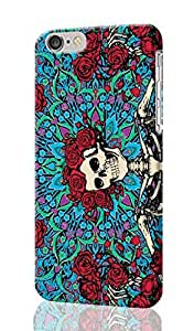 """SUUER Creative Article Series Grateful Dead Psychedelic iPhone 6 - 5.5 inches Plus Case , Designer Personalized Custom Plastic Hard CASE for iPhone 6 Plus (5.5"""") Durable New Style Rough Skin 3D Case Cover"""