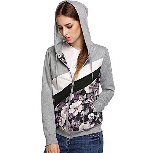 Bluetime Casual Sleeve Floral Sweatshirt product image