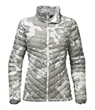 The North Face Women's Thermoball Full Zip Jacket - TNF White Woodchip Print - S (Past Season)
