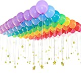 "200 Count/Pack Balloons 12"" Multicolor Thicken Latex Balloons For Birthday /Party/Christmas/Weddings And Holidays"