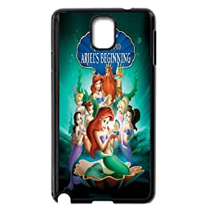 DIY Stylish Printing The Little Mermaid Cover Custom Case For Samsung Galaxy Note 3 N7200 MK1Q732520
