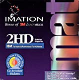 NEW Imation 25 Pack 2HD 3.5'' 1.44 Floppy Disks IBM Formatted