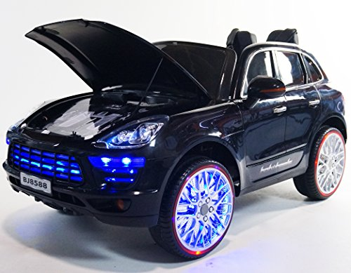 Newest Luxury Edition Porsche Cayenne SUV Style 12v Remote Controled Ride on Electric Toy Car for Kids