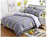 Hyun times Cotton Four Sets Of Bedding Rural Cotton Bed Quilt Cover Four Sets (birds Contention) Bed 4 Sets Of Bedding