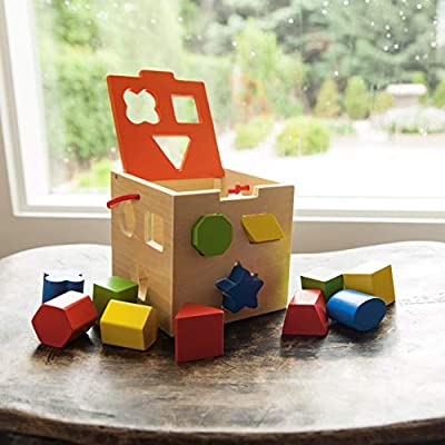 Fat Brain Toys Take-Along Shape Sorter Baby Toys & Gifts for Babies: Toys & Games