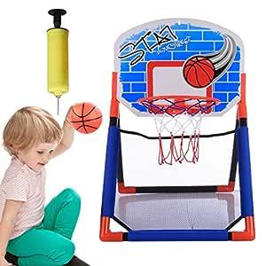 MRKE Mini Canasta Baloncesto, Portátil Canasta Baloncesto ...