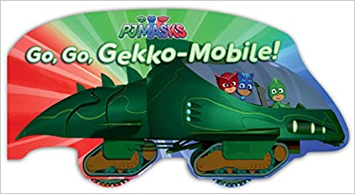 Amazon.com: Go, Go, Gekko-Mobile! (PJ Masks) (9781534410565): A. E. Dingee: Books