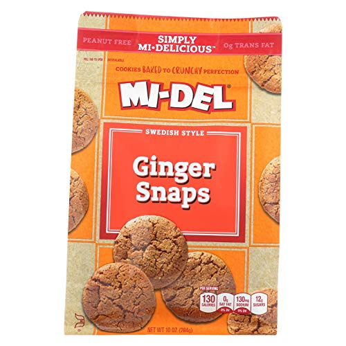 MIDEL GINGER SNAPS , Pack of 8 ()