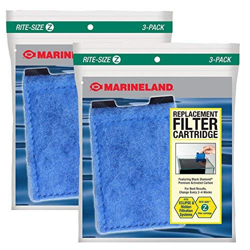 Eclipse System 6 Replacement - Marineland Rite-Size Cartridge Refills (6-Pack)