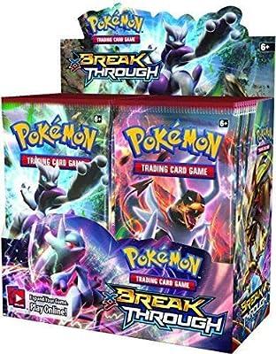 Pokémon XY Breakthrough Booster Box + XY Fates Collide Booster Box Pokémon Trading Cards Game Bundle, 1 of Each