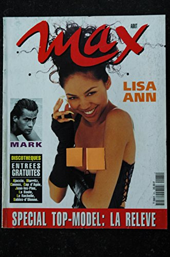 MAX 061 N° 61 Sp.TOP-MODEL LISA ANN AVA BURKART NUS CINDY CRAWFORD ADRIANA SKLENARIKOVA