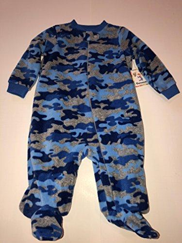 fbaeb3e6a Garanimals Newborn Baby Boy Sleep n' Play One (3-6Months, Blue Camo