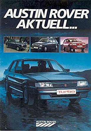 Amazon.com: 1980 Austin Rover Mini MG Turbo Metro Maestro Brochure: Entertainment Collectibles