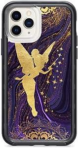 Kaidan Tinker Bell iPhone 6 6s 5 5s SE 8 7 Plus 11 Pro Max Case Purple Marble XS X XR Magical Fairy Samsung Galaxy S10 + Lite s10e S9 S8 Plus Peter Pan Note 9 8 Google Pixel 3 XL 2 Magic Wand am207