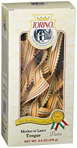 Torino Designer Pasta Mother In Law's Tongue, 8.8-Ounces Boxes (Pack of 4)