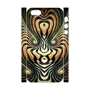 Iphone 5,5S Curve 3D Art Print Design Phone Back Case DIY Hard Shell Protection FG093286
