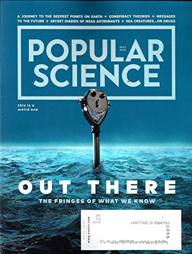 POPULAR SCIENCE Magazine (Fall, 2019) OUT THERE