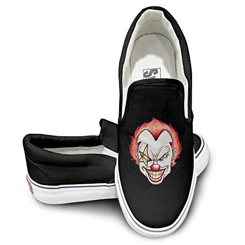 TAYC Clown Fashion Flats-Shoes Black