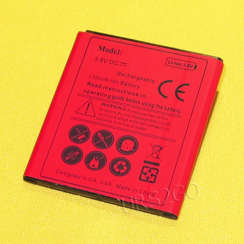 High Power Extended Slim Spare 2850mAh Battery for Samsung Galaxy Core Prime SM-S820L TracFone/Straight Talk SmartPhone -  ReelWonder