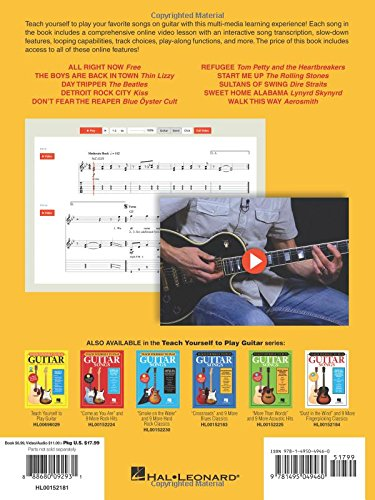 Teach Yourself To Play Guitar Songs: Sweet Home Alabama And 9 More ...