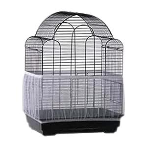 UxradG Cubierta para jaula de pájaros, de nailon suave para ...