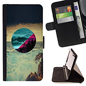 Jordan Colourful Shop - Beautiful Scenery For Apple Iphone 6 PLUS 5.5 - Leather Case Absorci???¡¯???€????€??????????