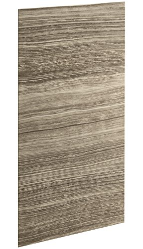 "KOHLER K-97606-W09 Choreograph 36"" x 72"" Wall Panel, VeinCut Sandbar"
