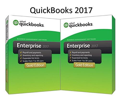 QuickBooks Enterprise 2016 Gold Edition, 10-User (1-year