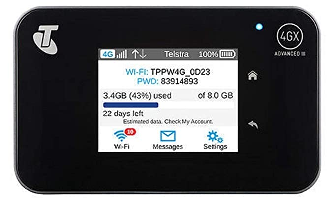 Amazon com: Netgear Aircard 810S (AC810s) 4G WiFi Router for