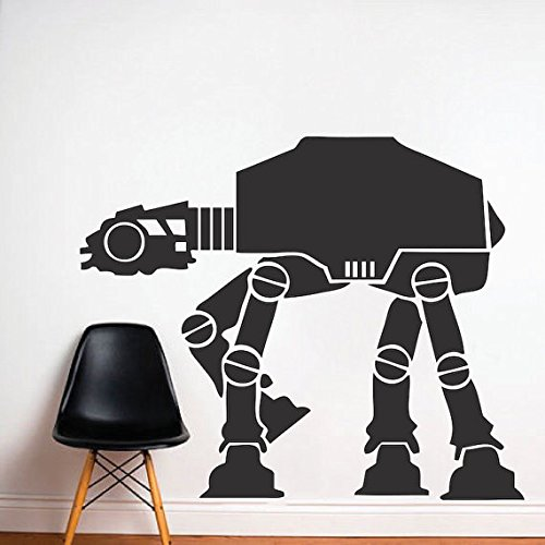 Imperial Walker Decal Graphic, Star Wars Wall Decal, Star Wars Mural, Imperial Walker Wall Vinyl Removable Star Wars Wall Vin (Wall Walker Decal Imperial)