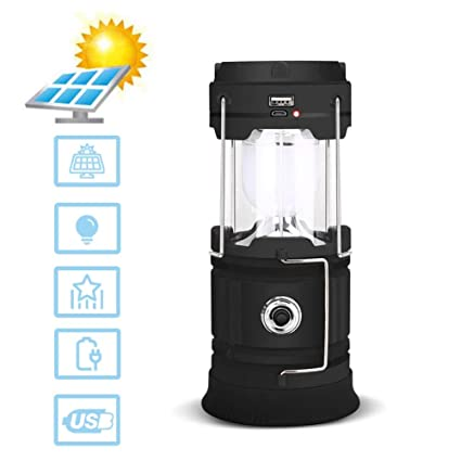 Amazon.com: WXSRC Camping Lantern Portable Led Outdoor ...
