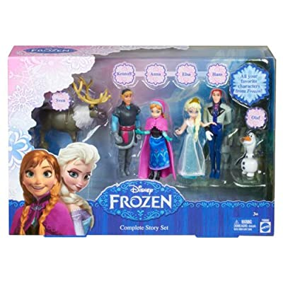 Disney Frozen Complete Story Playset (Discontinued by manufacturer): Toys & Games
